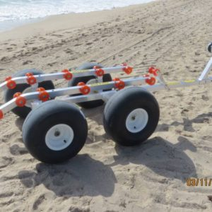Bigfoot 4 wheel beach dolly