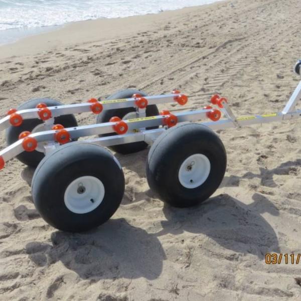 Bigfoot 4 wheel beach dolly