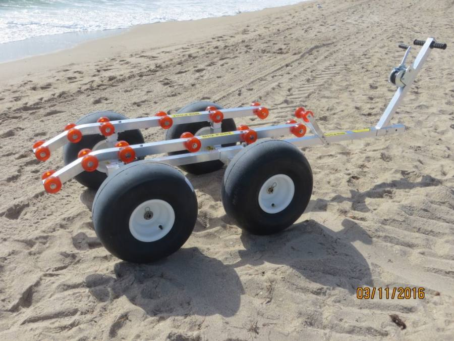 Bigfoot 4 Wheel Beach Dolly Florida Sailcraft Florida
