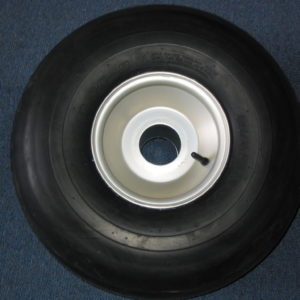 Tire and rim assembly