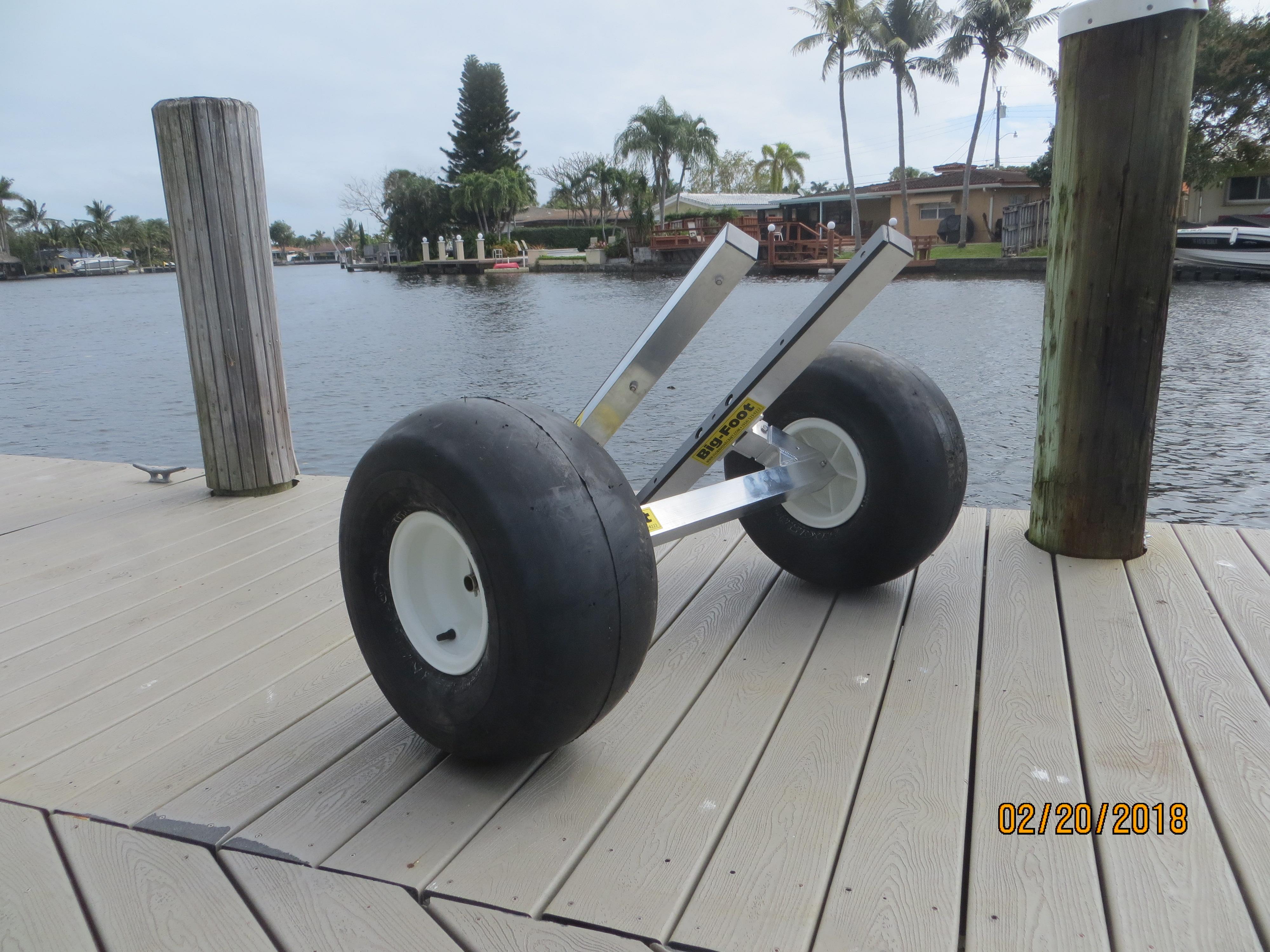 Outrigger Canoe Cart – Florida Sailcraft – Jet Ski Beach ...