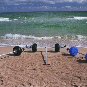 Catamaran Beach Wheels